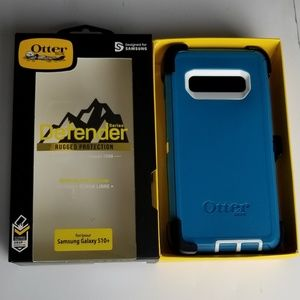 New Galaxy S10+ Plus Otterbox Defender Phone Case